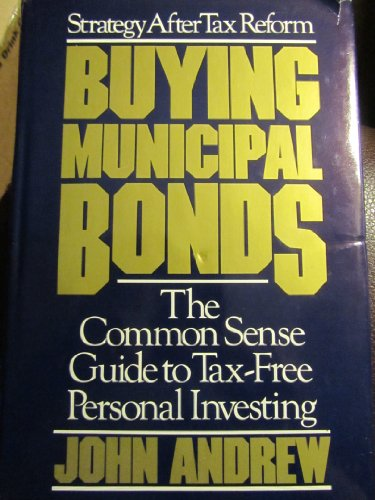 9780029014608: Buying Municipal Bonds