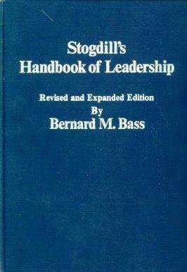 9780029018200: Stogdill's Handbook of Leadership:  A Survey of Theory and Research, Revised and Expanded
