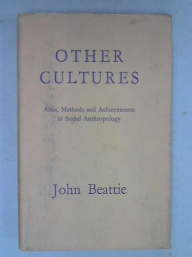 9780029020401: Other Cultures