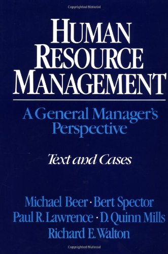 Human Resource Management : A General Manager's: Paul R. Lawrence;