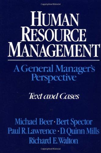 9780029023600: Human Resource Management