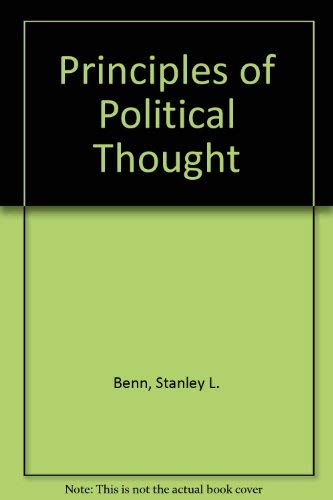 9780029026700: Principles of Political Thought