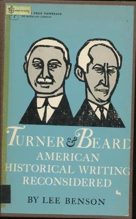 9780029027103: Turner and Beard: American Historical Writing Reconsidered