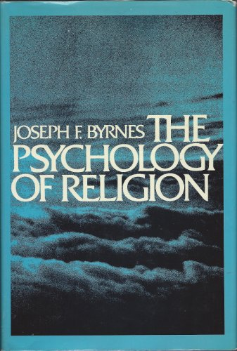 9780029035801: The Psychology of Religion