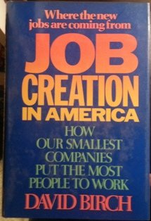 9780029036105: Job Creation in America: How Our Smallest Companies Put the Most People to Work
