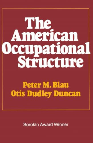 9780029036709: American Occupational Structure