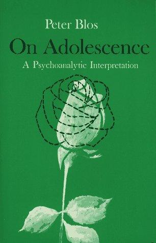9780029043301: On Adolescence