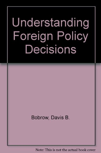 9780029044100: Understanding Foreign Policy Decisions: The Chinese Case
