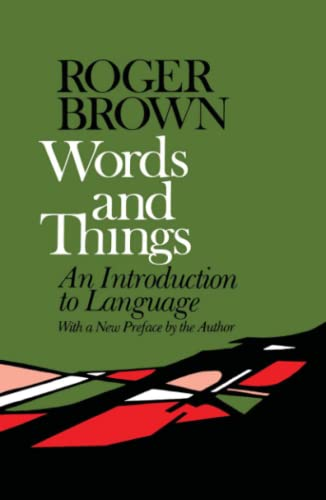 9780029048108: Words and Things