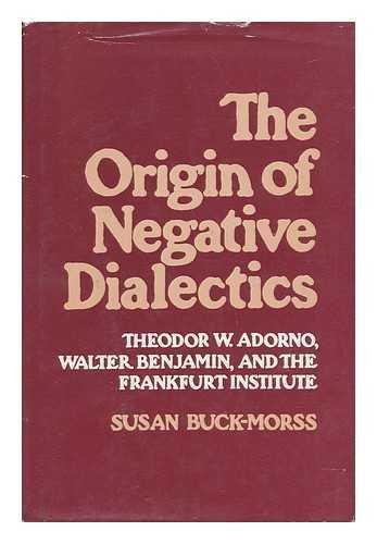 9780029049105: The Origin of Negative Dialectics: Theodor W. Adorno, Walter Benjamin and the Frankfurt Institute