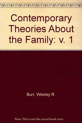 9780029049402: CONTEMPORARY THEORIES ABOUT THE FAMILY V 1