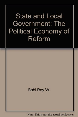 9780029051801: State and local government: The political economy of reform