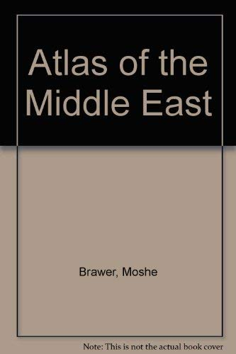 9780029052716: Atlas of the Middle East