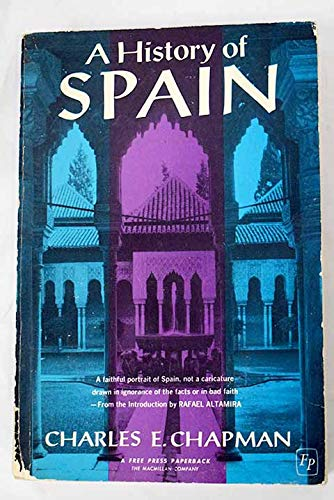 9780029053300: History of Spain