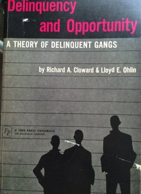 9780029055908: Delinquency and Opportunity