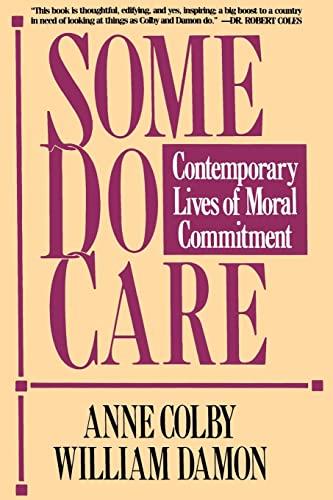 9780029063569: Some Do Care