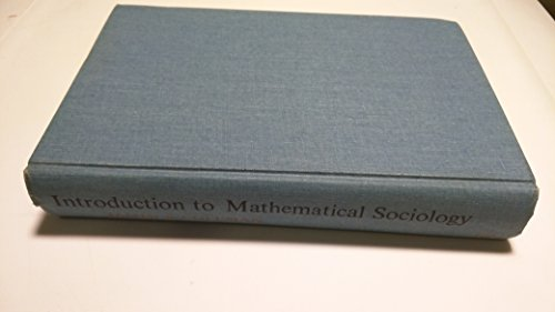9780029065204: Introduction to Mathematical Sociology
