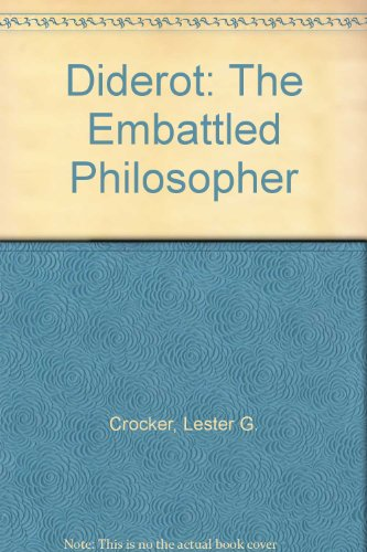 9780029069004: Diderot: The Embattled Philosopher