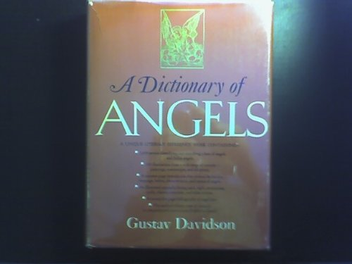 9780029069400: Dictionary of Angels