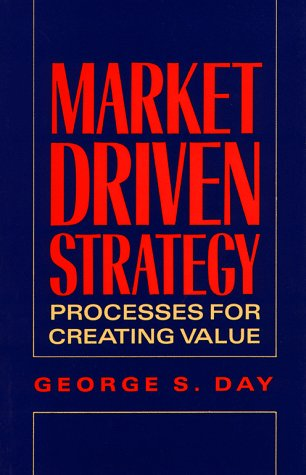 9780029072110: Marketing Driven Strategy: Process for Creating Value