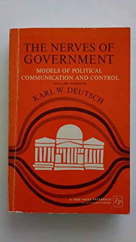 9780029072905: Nerves of Government: Models of Political Communication and Control