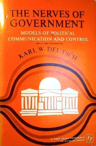 9780029072905: Nerves of Government: Models of Political Communication
