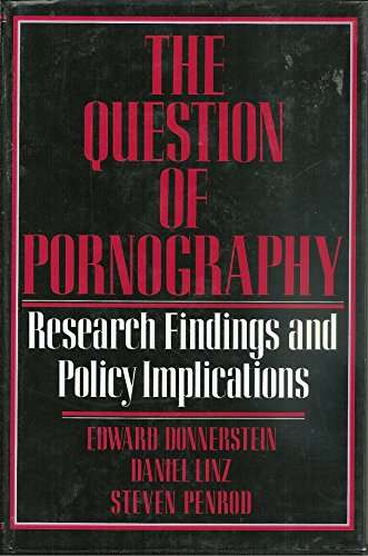 9780029075210: The Question of Pornography