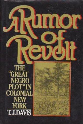 9780029077405: Rumor of Revolt: The