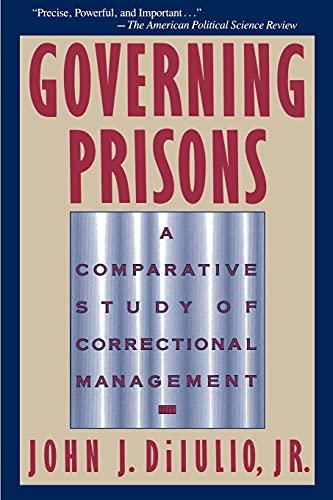 9780029078839: Governing Prisons