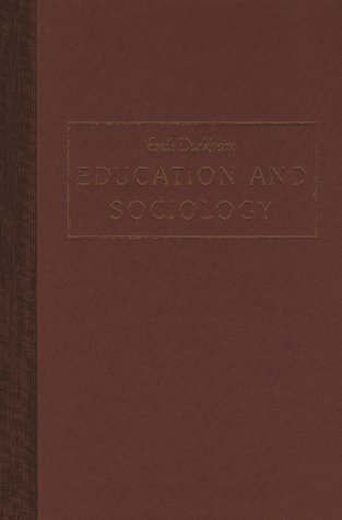 9780029079201: Education and Sociology