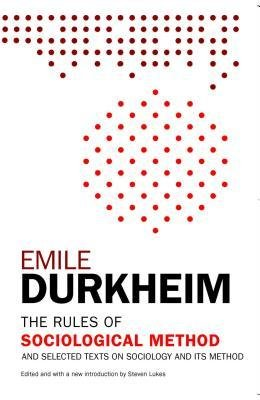 9780029085004: Rules of Sociological Method