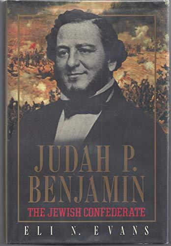 9780029088807: Judah P. Benjamin - The Jewish Confederate