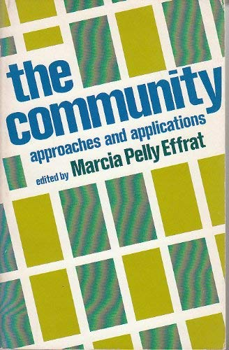 9780029093009: Community Approaches and Applications