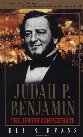 9780029099117: Judah P. Benjamin: The Jewish Confederate