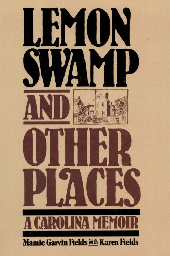 9780029101605: Lemon Swamp and Other Places: A Carolina Memoir