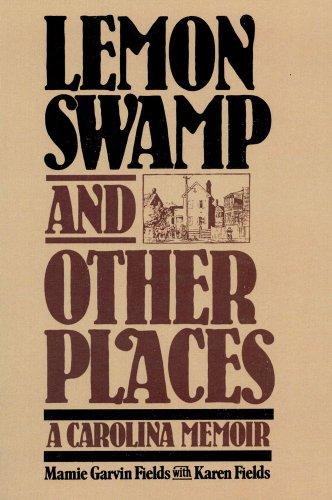 9780029101605: Lemon Swamp and Other Places: A Carolina Memoir
