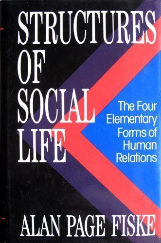 9780029103456: STRUCTURES OF SOCIAL LIFE
