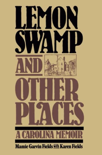 9780029105504: Lemon Swamp and Other Places: A Carolina Memoir