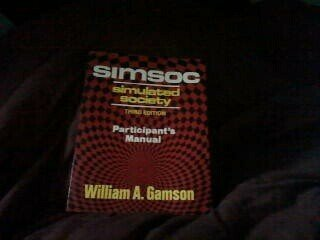 9780029111703: Simsoc (Simulated Society Participants Manual With Selected Readings)