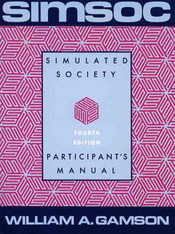 9780029112014: Simsoc: Simulated Society : Participants Manual with Selected Readings