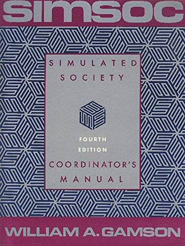 9780029112021: Simsoc Coordinators Manual 4th