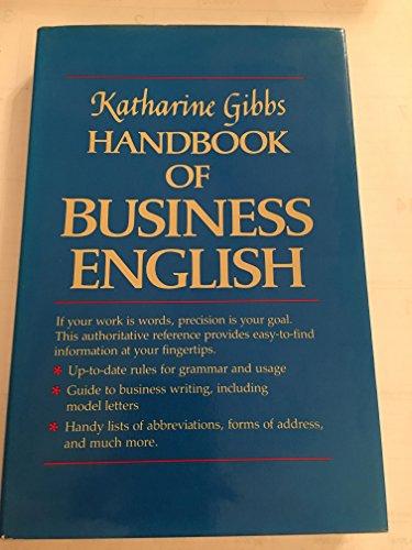 9780029116807: Katharine Gibbs Handbook of Business English