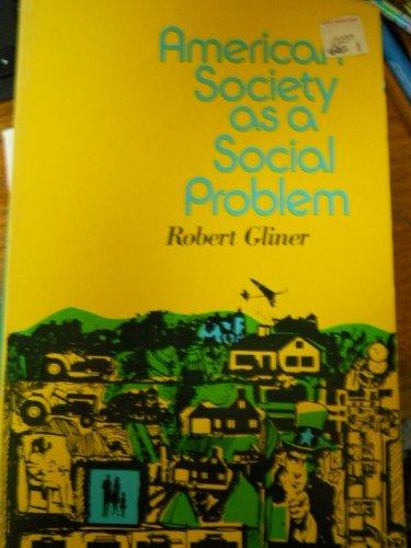 9780029118603: American Society as a Social Problem
