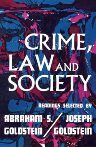 9780029122600: Crime Law & Society