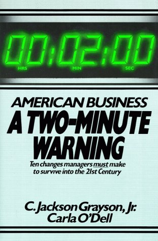 9780029126806: American Business - A Two Minute Warning