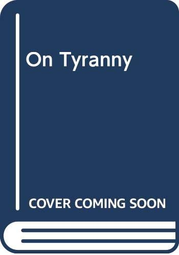 9780029127360: On Tyranny