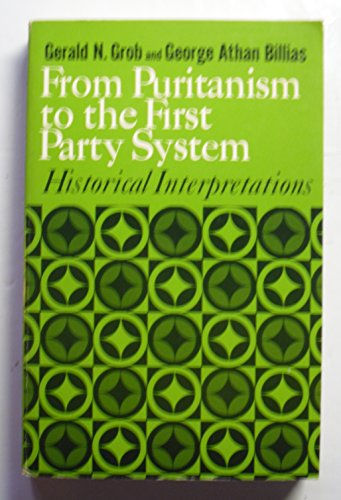 9780029129005: Interpretations of American History: From Puritanism to the First Party System v. 1