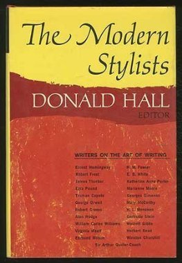 9780029136300: Modern Stylists: Writers on the Art of Writing