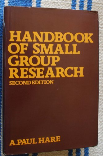 9780029138410: Handbook of Small Group Research