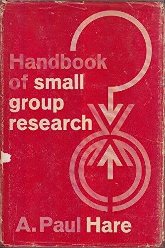 9780029138502: Handbook of Small Group Research